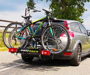 Крепление для перевозки велосипеда на фаркоп автомобиля
